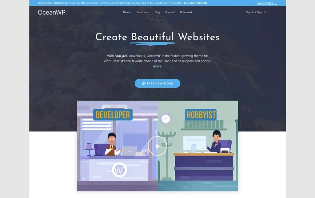 best and free wordpress theme