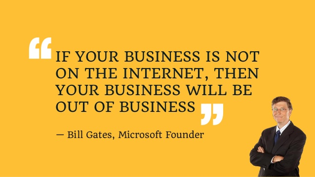 THIS IS WRITTEN BY BILL GATES FOUNDER OF MICROSOFT