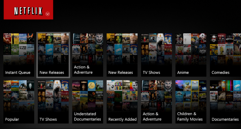 this is the image of the netflix entensions
