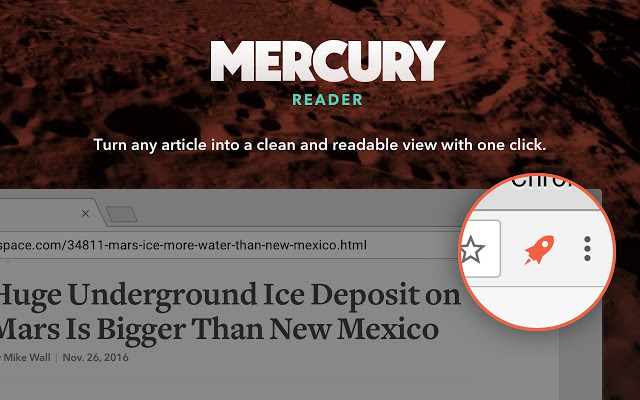 this is the image of the mercury extension