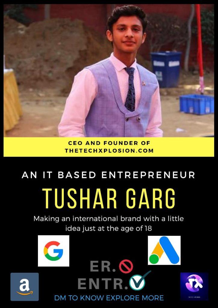 tushar garg about us