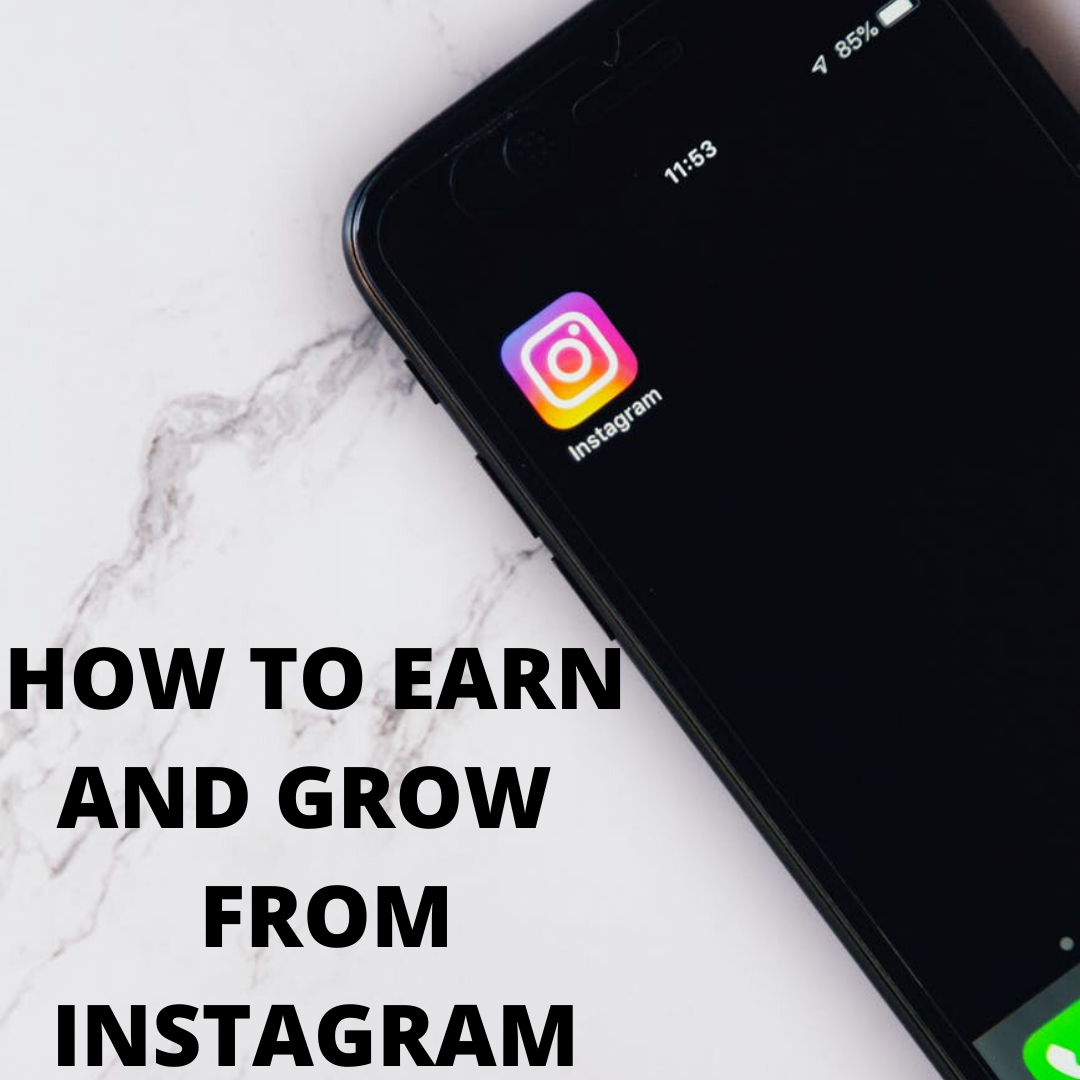 HOW TO EARN AND GROW  FROM INSTAGRAM!