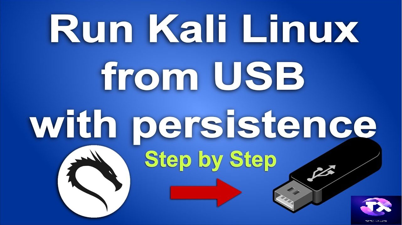 How to make a live persistence Kali Linux 2020.1b USB drive.